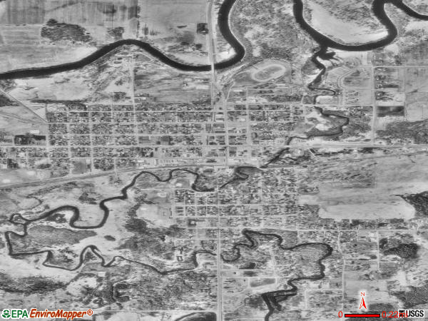 Aitkin satellite photo by USGS