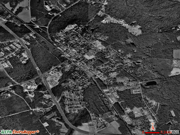 Springfield satellite photo by USGS