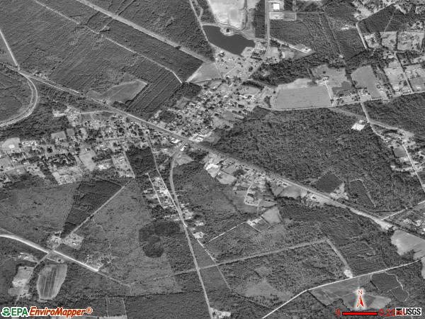 Ridgeville satellite photo by USGS