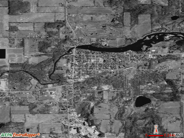 Nashville satellite photo by USGS