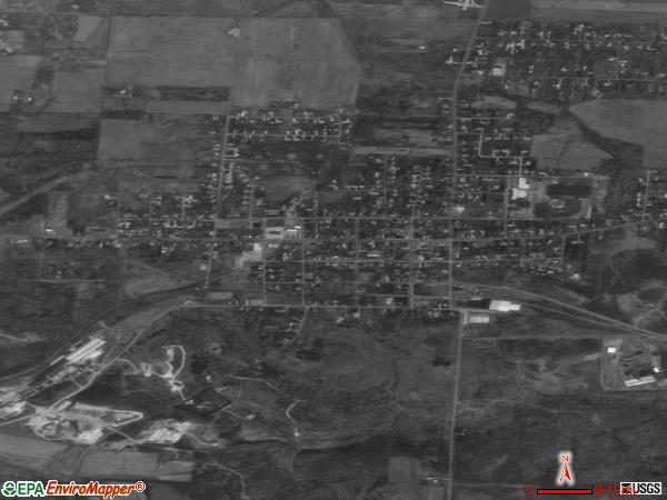 East Canton satellite photo by USGS