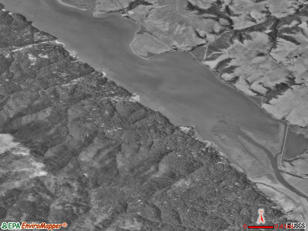 Inverness satellite photo by USGS