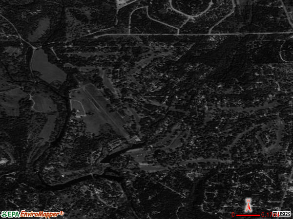 Woodcreek satellite photo by USGS