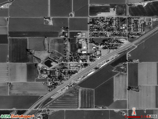 Gilcrest satellite photo by USGS