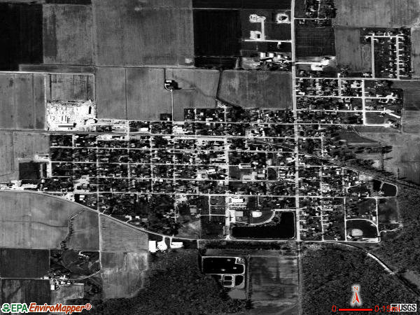 Germantown satellite photo by USGS