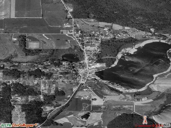 Clear Lake satellite photo by USGS