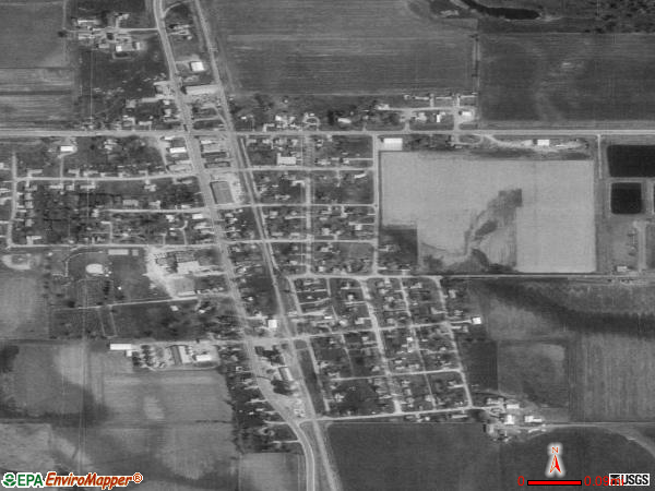 Plainfield satellite photo by USGS 