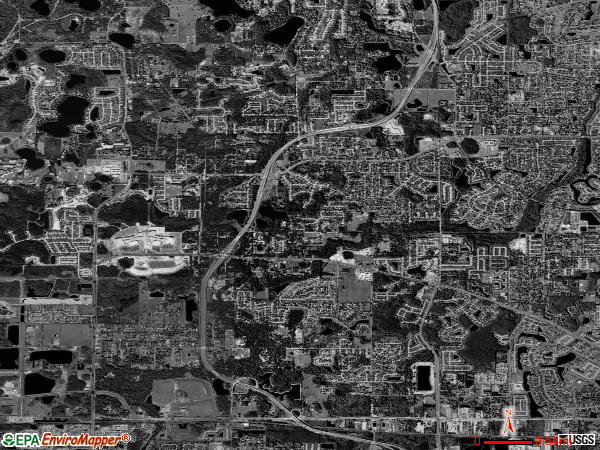 Citrus Park satellite photo by USGS 