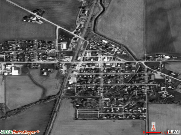 Manlius satellite photo by USGS