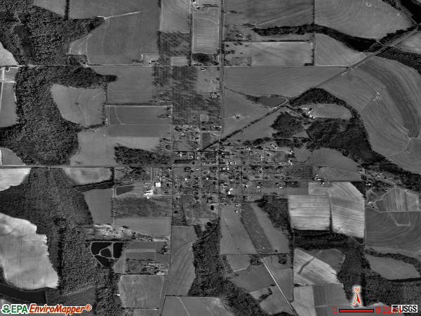 Sale City satellite photo by USGS