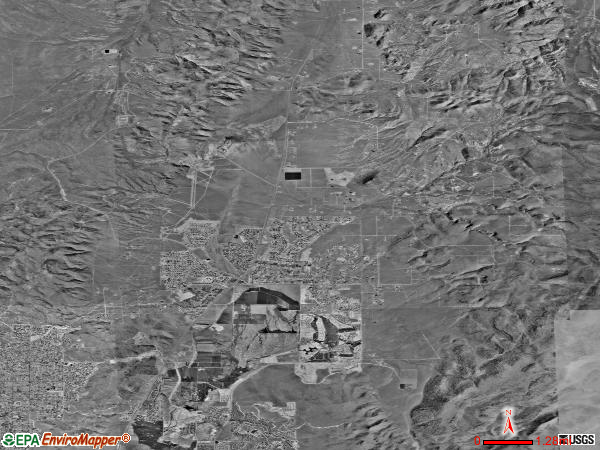 Spanish Springs satellite photo by USGS 