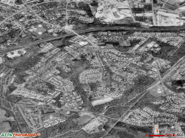 Temple Hills satellite photo by USGS 