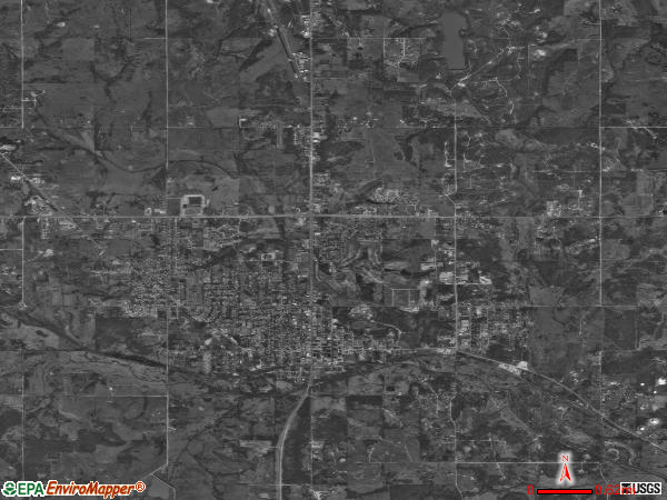 Seminole satellite photo by USGS 