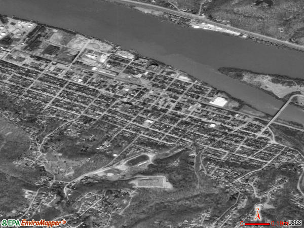 Coraopolis satellite photo by USGS