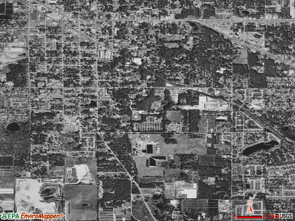 South Apopka satellite photo by USGS