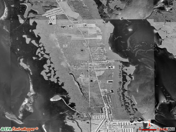 St. James City satellite photo by USGS 