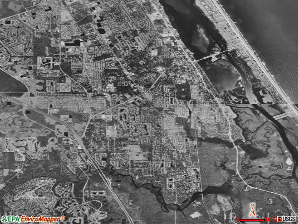 Port Orange satellite photo by USGS