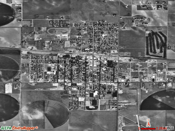 Yuma satellite photo by USGS