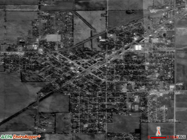 East Prairie satellite photo by USGS