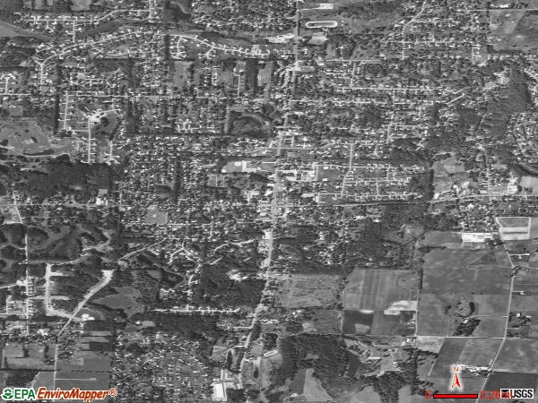 Uniontown satellite photo by USGS 