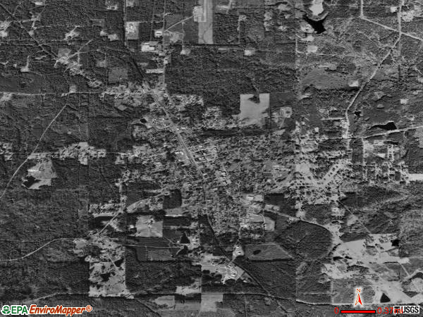 Haynesville satellite photo by USGS