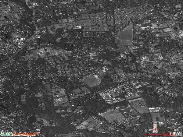 Old Brookville satellite photo by USGS 