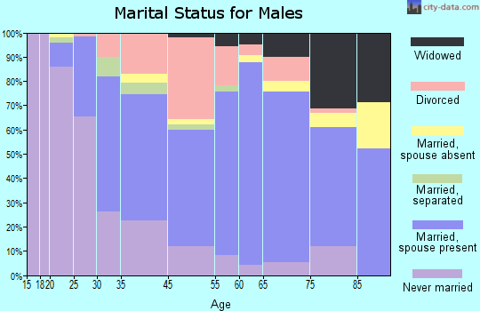 Webster marital status for males
