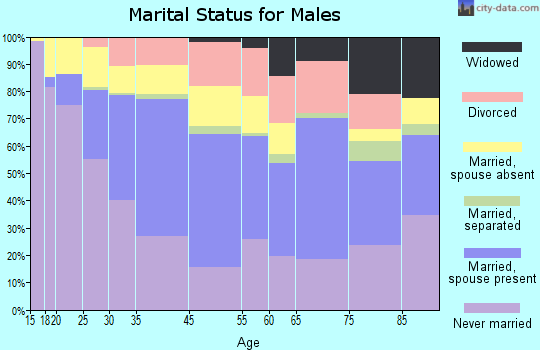 Hamtramck marital status for males