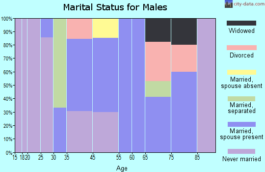 Lula marital status for males