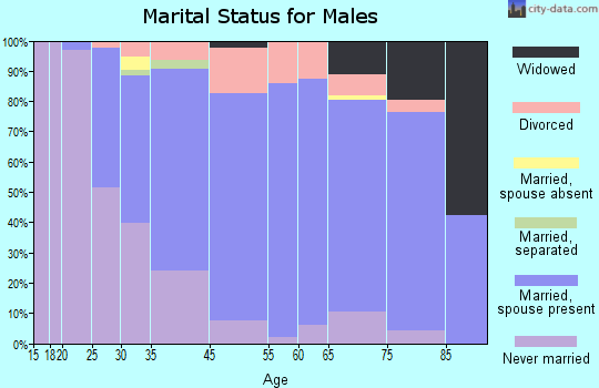 Lancaster marital status for males