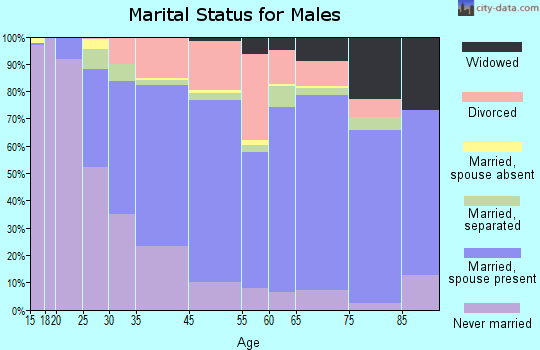 Lockport marital status for males