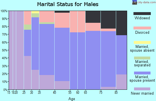 Manchester marital status for males
