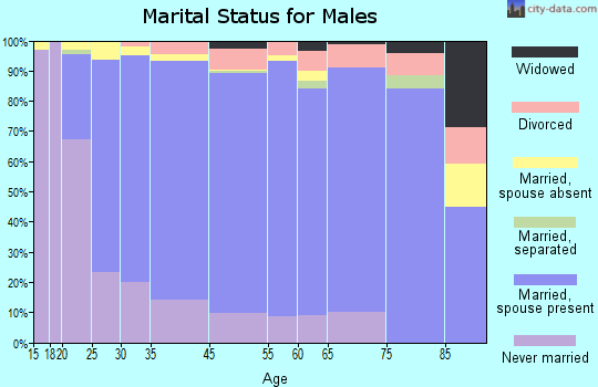 Monsey marital status for males