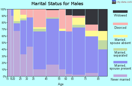Warren marital status for males