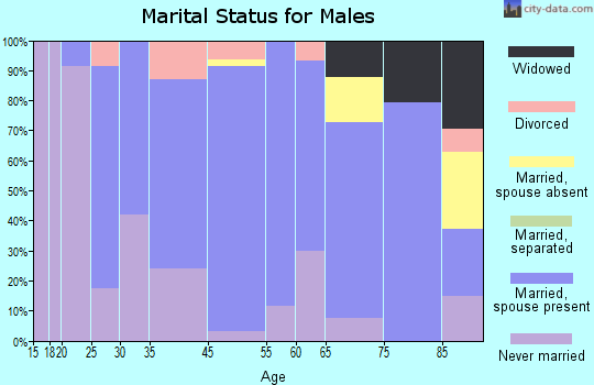 New Rockford marital status for males