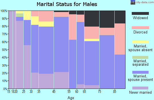 Bayview-Montalvin marital status for males