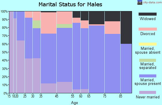 Antwerp marital status for males