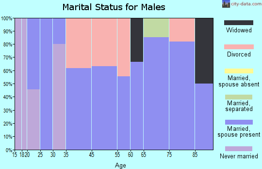 Stringtown marital status for males