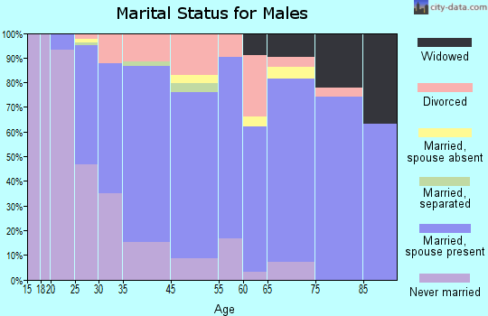 Emmaus marital status for males