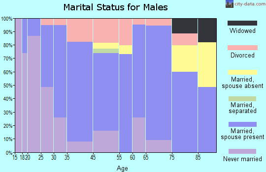 Wellsboro marital status for males