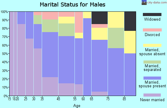 Kingstree marital status for males