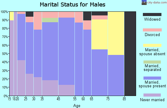 Hawkins marital status for males