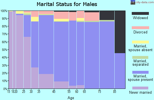 Vienna marital status for males