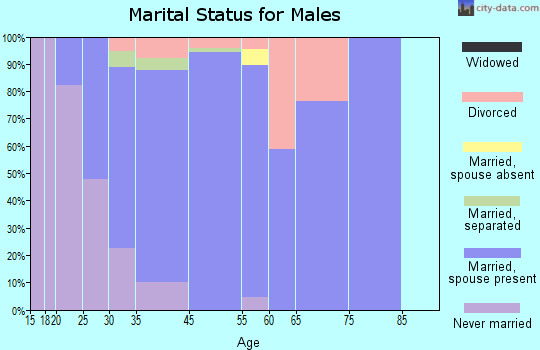 Barberton marital status for males