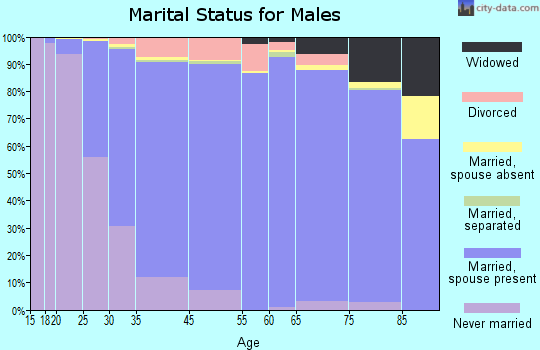 New Berlin marital status for males