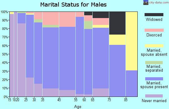 Stoughton marital status for males