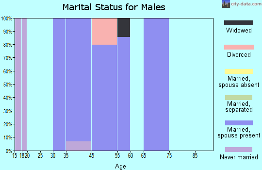 Carriage Club marital status for males