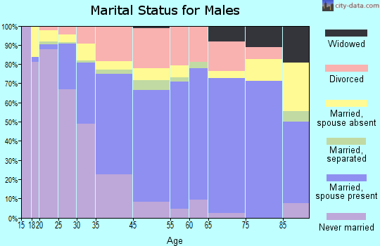 Durango marital status for males