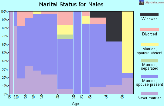 Holly marital status for males