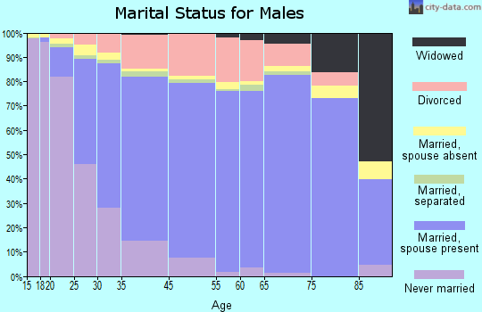 Westminster marital status for males